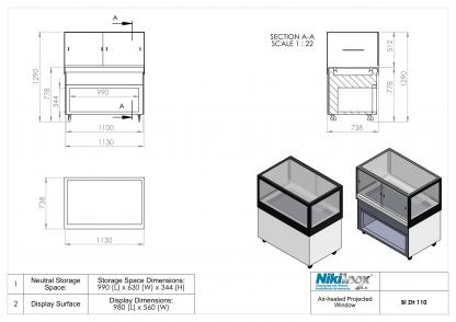 Product Drawing BI ZH 110 ENG 1