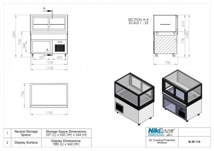 Product Drawing BI ZR 110 EN 1