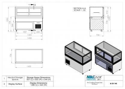Product Drawing BI ZR 140 EN 1