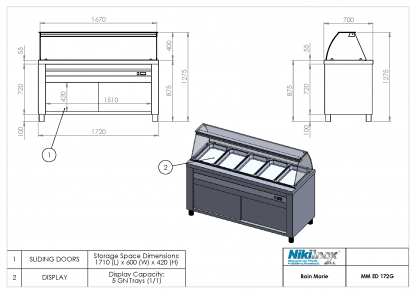 Product Drawing MM ED 172G ENG0001