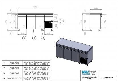 Product Drawing PA 60 179M ENG0001