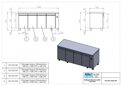 Product Drawing PA GN 195A ENG0001