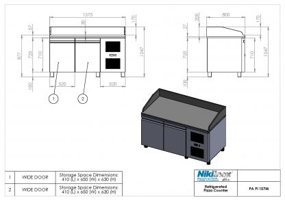 Product Drawing PA PI 157M ENG0001
