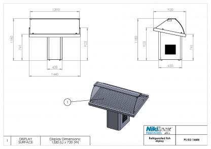 Product Drawing PS KO 144M ENG0001