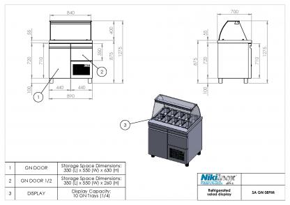 Product Drawing SA GN 089M ENG0001