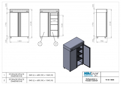 Product Drawing TH SK 140M ENG0001