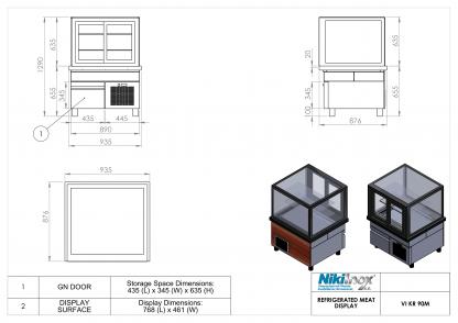 Product Drawing VI KR 90Μ EN 1
