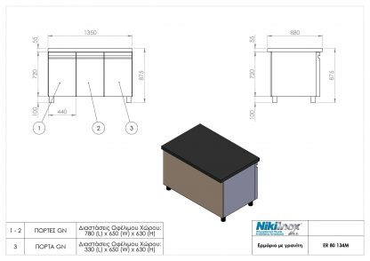 Product drawing ER 80 134M page 0001