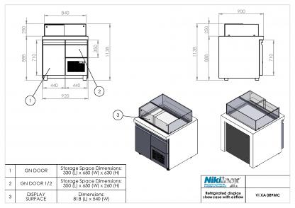 Product Drawing VI XA 089MC ENG0001