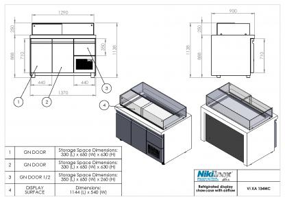 Product Drawing VI XA 134MC ENG0001