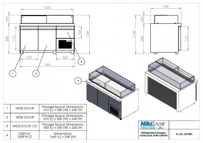 Product Drawing VI XA 157MC ENG0001