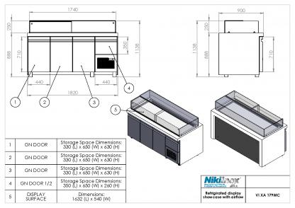 Product Drawing VI XA 179MC ENG0001