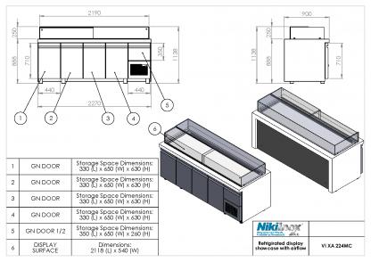 Product Drawing VI XA 224MC ENG0001