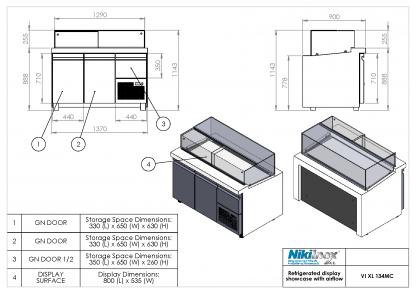 Product Drawing VI XL 134MC ENG0001