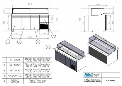 Product Drawing VI XL 179MC ENG0001